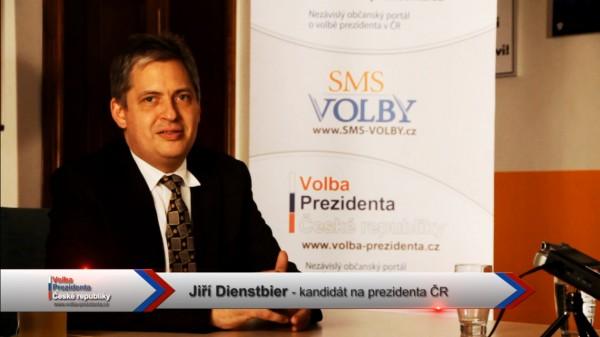 Předvolební video pozdrav kandidáta Jiřího Dienstbiera